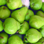 Pears: Williams, Red bartlett, D'anjou, Packhams, Abbate fetel